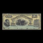 Canada, Banque Jacques-Cartier, 5 piastres <br /> June 1, 1889