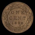 Canada, Victoria, 1 cent <br /> 1895