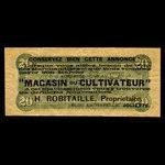 Canada, H. Robitaille, no denomination <br /> 1887