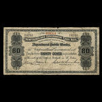 Canada, Newfoundland - Department of Public Works, 80 cents <br /> 1903