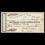Canada, Estate Benjamin Smith, 5 dollars <br /> January 29, 1889