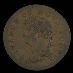 Canada, Province of Nova Scotia, 1/2 penny <br /> 1823