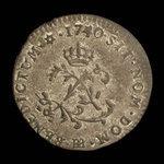 France, Louis XV, 2 sous <br /> 1740