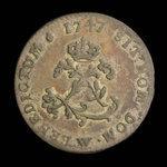 France, Louis XV, 2 sous <br /> 1747