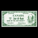 Canada, unknown, 1 dollar <br /> 1972