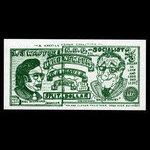 Canada, unknown, 1 split dollar <br /> 1972