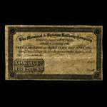 Canada, Montreal & Bytown Railway Company, 15 shillngs <br /> June 1, 1854