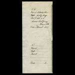 Canada, Hudson's Bay Company, 40 pounds <br /> March 1, 1889