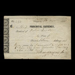 Canada, Province of Canada, 16 shillings, 3 pence <br /> December 31, 1841