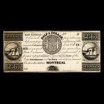 Canada, Jno. Molson (Jr.), 3 francs <br /> 1838