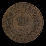 Canada, Victoria, 1 cent <br /> 1873