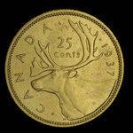 Canada, George VI, 25 cents <br /> 1937