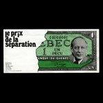 Canada, Raymond Drouin, 1 pecu <br /> 1973