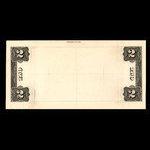Canada, Dominion of Canada, 2 dollars <br /> 1913