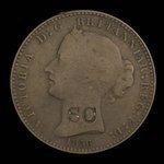 Canada, Province of Nova Scotia, 1 penny <br /> 1856