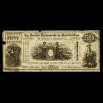 Canada, Permanent Building Society of the Distirct of Iberville, no denomination <br /> 1895