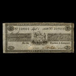 Canada, Bank of British North America, 1 dollar <br /> September 1, 1838