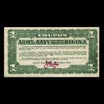 Canada, Army & Navy Mail Order Dept. Store of Regina, 1 dollar <br /> 1950