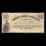 Canada, Moisic Iron Company, 25 cents : 1876