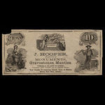 Canada, J. Hooper, no denomination <br /> 1887