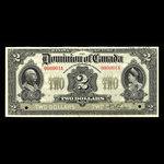 Canada, Dominion of Canada, 2 dollars <br /> January 2, 1914