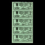 Canada, Club Automobile de Québec, 2 cents <br /> 1941