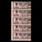 Canada, Club Automobile de Québec, 10 cents <br /> 1941