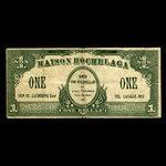 Canada, Maison Hochelaga, 1 dollar <br /> 1935