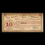 Canada, Society of Arts of Canada, 5 percent <br /> May 15, 1895