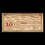 Canada, Society of Arts of Canada, 5 percent <br /> May 15, 1895