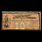 Canada, Canadian Artistic Society Limited, no denomination <br /> February 21, 1895