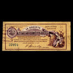 Canada, Canadian Artistic Society Limited, no denomination <br /> April 10, 1895