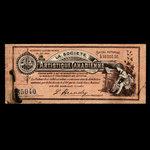 Canada, Canadian Artistic Society Limited, no denomination <br /> May 1, 1895