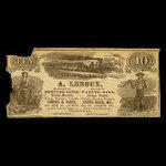 Canada, A. Leroux, no denomination <br /> 1887