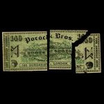 Canada, Pocock Bros., no denomination <br /> 1915