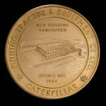 Canada, Finning Tractor & Equipment Co. Ltd., no denomination <br /> 1964