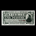 Canada, Les Chevaliers de L'Indépendance, 1 dollar <br /> 1970