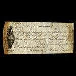 Canada, Shannan, Livingston & Co., 8 pounds, 18 shillings <br /> November 4, 1815