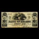 Canada, Bank of Health, no denomination <br /> 1866