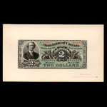 Canada, Dominion of Canada, 2 dollars <br /> June 1, 1886