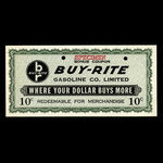 Canada, Buy-Rite Gasoline Co. Limited, 10 cents <br /> 1978