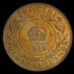Canada, George V, 1 cent <br /> 1919