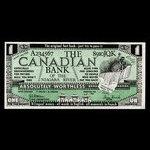 Canada, unknown, no denomination <br /> 1982