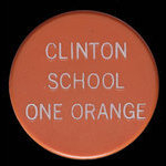 Canada, Clinton School, 1 orange <br /> 1976
