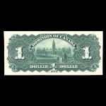 Canada, Dominion of Canada, 1 dollar <br /> July 2, 1897