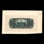 Canada, Dominion of Canada, 1 dollar <br /> March 31, 1898