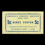 Canada, Harold's Sunoco Service, 5 cents <br /> 1978