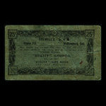 Canada, Colwell's, 25 cents <br /> 1960