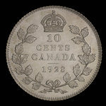 Canada, George V, 10 cents <br /> 1928