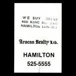 Canada, Arocan Realty Ltd., no denomination <br /> 1979